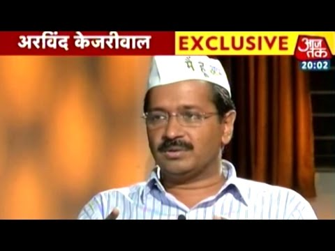Exclusive: Rajdeep Sardesai talks to Arvind Kejriwal