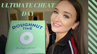 ULTIMATE CHEAT DAY || DOUGHNUTS, NACHOS, BURGERS + MORE #2