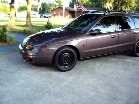 Custom Silver Plumb 2000 Saturn Lw1 Wagon Youtube