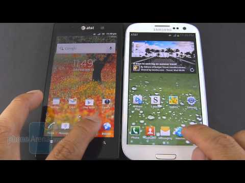 Sony Xperia ion vs Samsung Galaxy S III