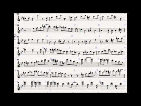 Jim Mullen - Rhythm Changes Transcription
