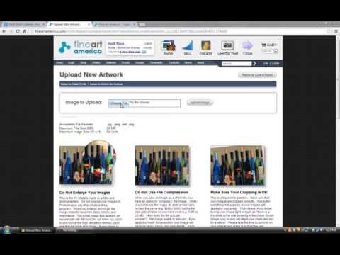 Fine Art America Review - How To Start and Market Your Art Online