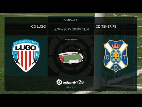 CD Lugo - CD Tenerife MD41 M2100