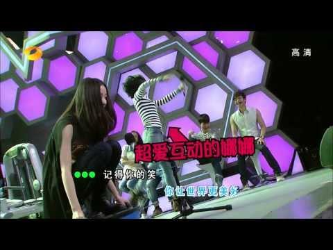 快乐大本营-冯绍峰为倪妮撑腰 被曝与井柏然是牌友-d20131214