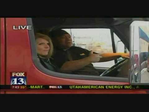 0 Big Budah Visits CR England Truck Driving School 06