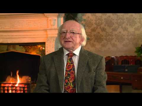 Video: Michael D Higgins makes his Christmas and New Year address to Ireland (English)