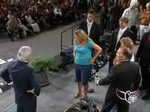Young Woman's Testimony on Miracle-Working Power during Benny Hinn Crusade