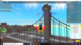 TUTORIAL ROBLOX COMO JOGAR SUPER POWER TRAINNING SIMULATOR
