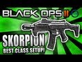 Black Ops 2: BEST CLASS SETUP - &quot;SKORPION EVO&quot; (Beast!) - Call of Duty BO2 Gameplay