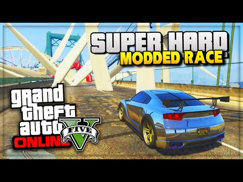 Gta 5 Online Modded Ufo Race! - Gta Online Funny Moments - (gta V Gameplay) video
