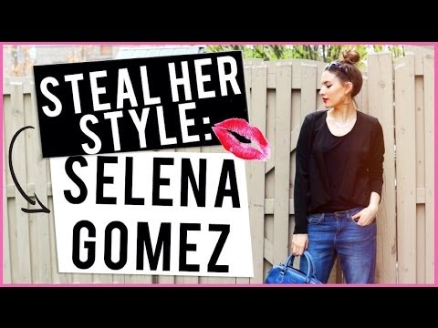 Steal Her Style: Selena Gomez ♡ | Styling Boyfriend Jeans thumbnail