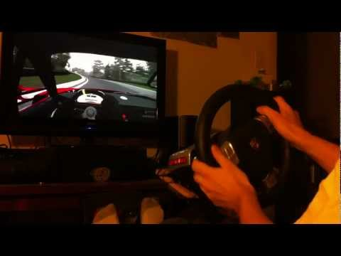 Forza 4 Nurburgring Nordscheife Simulation Steering with Fanatec Turbo S (900°) Wheel