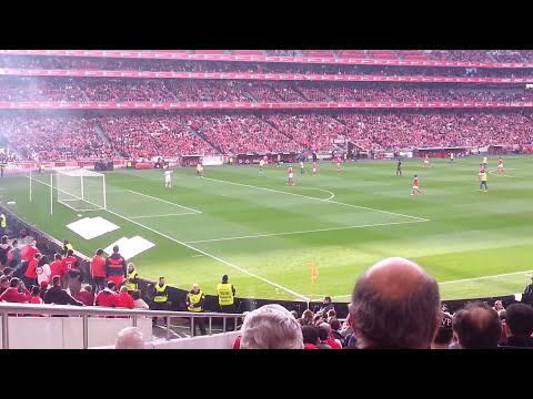 Tudo a saltar Benfica vs estoril