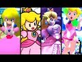 Super Mario Evolution of GIANTESS PEACH 2001-2015 (N64 to Wii U)