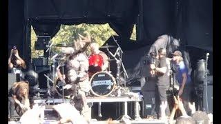 Tribute to late drummer Vinnie Paul HELLYEAH/Pantera held at the Aftershock Festival..!