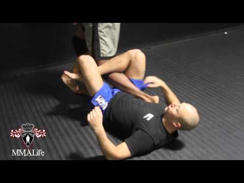 Jiu Jitsu Technique: Calf Slicer Image 1
