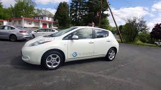 2012 Nissan LEAF Ellenville, Newburgh, Kingston, New Paltz, Middletown, Goshen, NY 2265