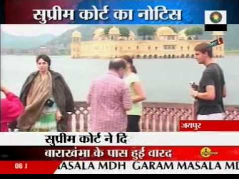 SAVE MANSAGAR - Controversial Case of Jal Mahal