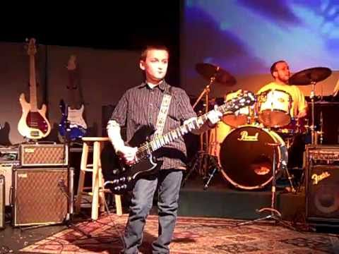 9 year old Ethan plays Johnny Cash Walk The Line