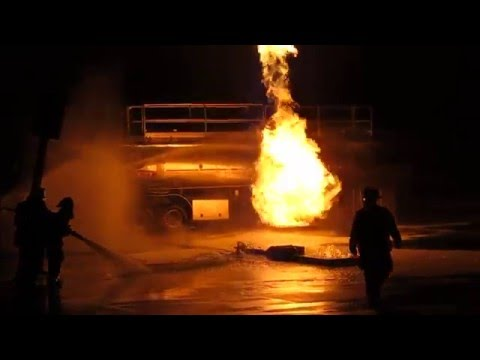 NYS Live Fire Class B Foam Operations