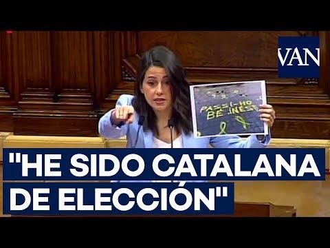 """Inés Arrimadas se despide: """"Les deseo lo mejor en lo personal. En lo político, ya veremos"""""""