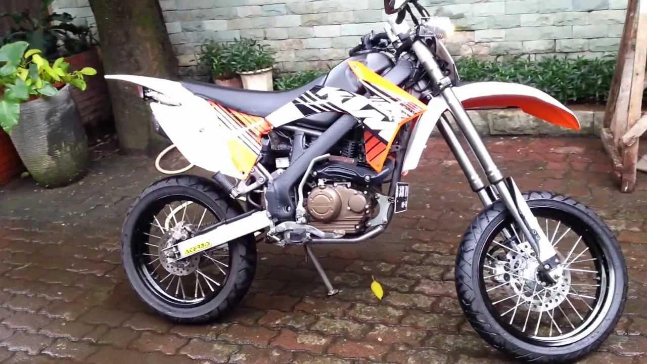 Kawasaki D Tracker  Modifikasi