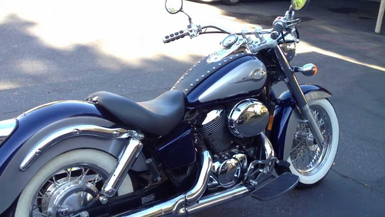 2001 Honda Shadow Ace Vt750cc Youtube