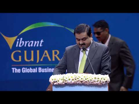 Gautam Adani's Speech During Inaugural Ceremony Of Vibrant Gujarat Global Summit 2013 video