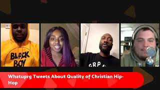 WHATUPRG tweet controversy, Da TRUTH on producing for mainstream | Urban Christian Culture Forum #1