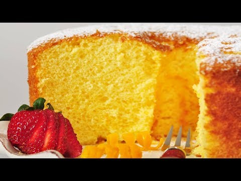Orange Chiffon Cake Recipe Demonstration - Joyofbaking.com