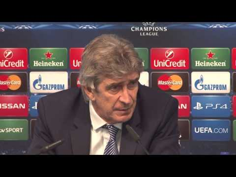 Pellegrini admits Man City were 'very bad' in 1st half v Barcelona