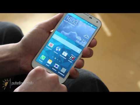 Videoarvostelu: Samsung Galaxy S5