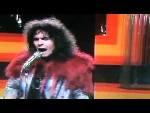 Marc Bolan &amp; T.Rex Rocking Early Version of &quot;Easy Action&quot; 1972