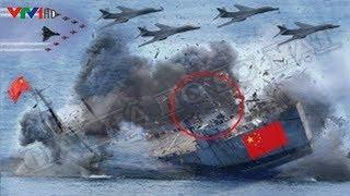 Giờ phút lịch sử Tàu Sân Bay Việt Nam bất ngờ N,Ổ S/Ú,NG già,nh đảo Trung Quốc khô,ng kịp tr,ở tay