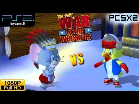 Tom And Jerry In War Of The Whiskers - Ps2 Gameplay 1080p - Nibbles Vs Duckling (alt. Costumes) video