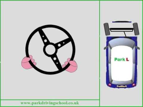 2 Controls Steering - Park Driving School Cheltenham - Pull Push -