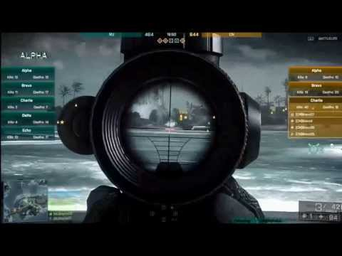 BF4 weapons: Sniper rifles