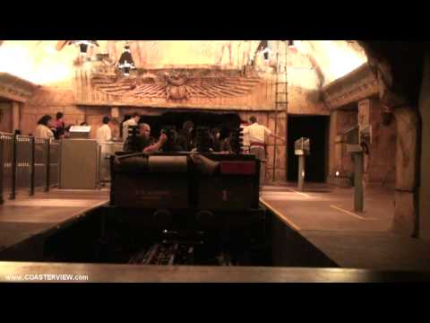 Revenge Of The Mummy: The Ride (HD Complete Exprerience) Universal Studios Hollywood