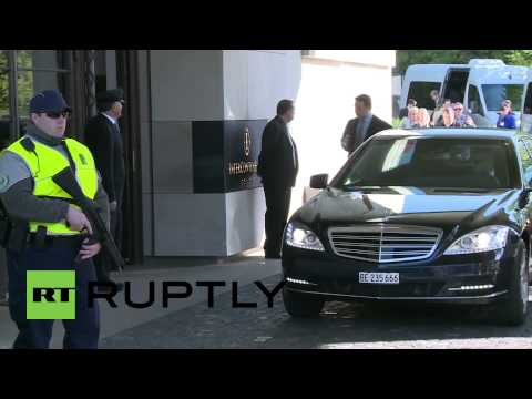Switzerland: Lavrov arrives in Geneva ahead of Ukraine talks