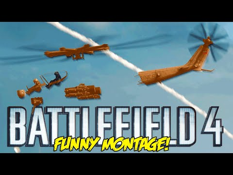 Battlefield 4 Funny Montage! Magic Heli Glitch, Moon Jump FAIL, Flaming Butthole (BF4 Funny Moments)