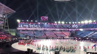 Олимпийские атлеты из России на открытии Олимпиады в Пхенчхан