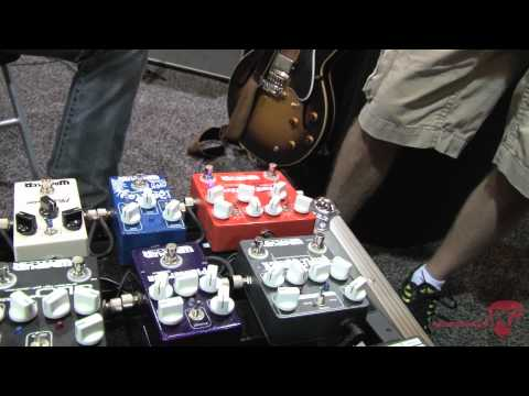 Summer NAMM '12 - Wampler Pedals Brent Mason Signature Hot Wired and Tweed '57