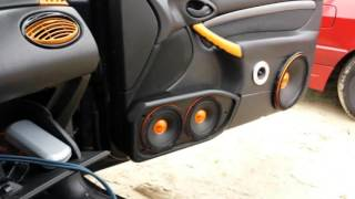 SP AUDIO SPL Loud car audio full install