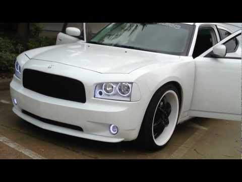 Dodge Charger Re Audio Sxx Woofers Custom Trunk & Windshield Flex king Of Bass video