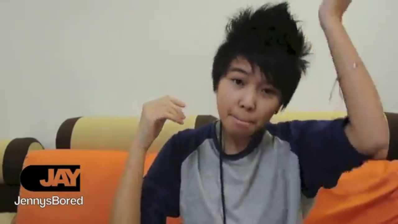how to asian guy tomboy hairstyle tutorial short medium