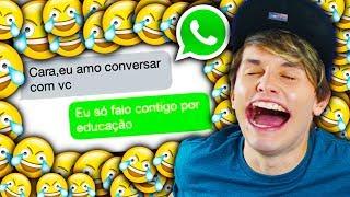 MORRI DE RIR COM CONVERSAS DO WHATSAPP !!!