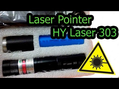 Обзор Laser Pointer HY Laser 303 (1000mW)