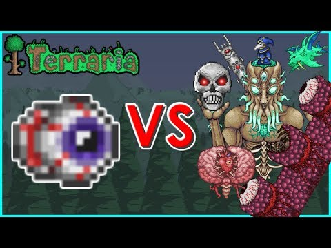 Terraria - The Eye of Cthulhu vs All Bosses | Biron