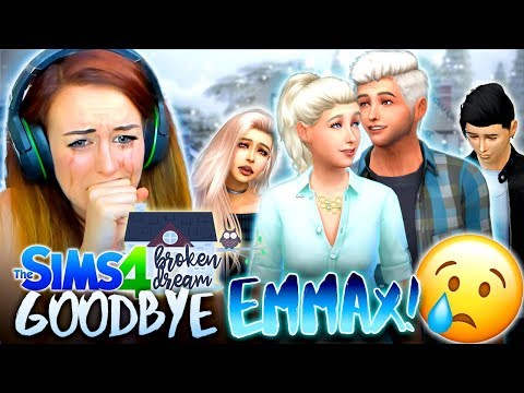 THE END OF EMMAX... 😭 (The Sims 4 - BROKEN DREAM #27! 🏚)