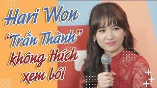 KINGLIVE | Hari Won bật mí Trấn Thành không hề thích coi bói?
